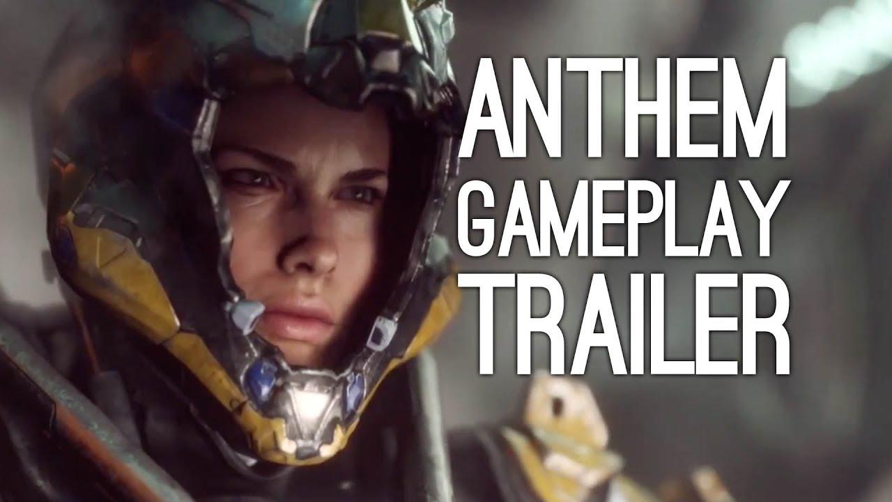 Anthem Gameplay Reveal Trailer Bioware S Destiny Game Xbox One X
